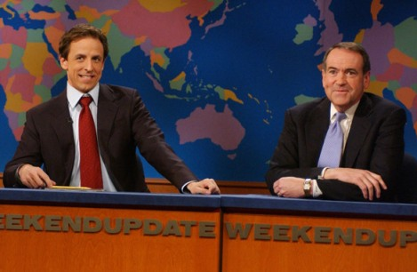 Gov. Huckabee on SNL's Weekend Update